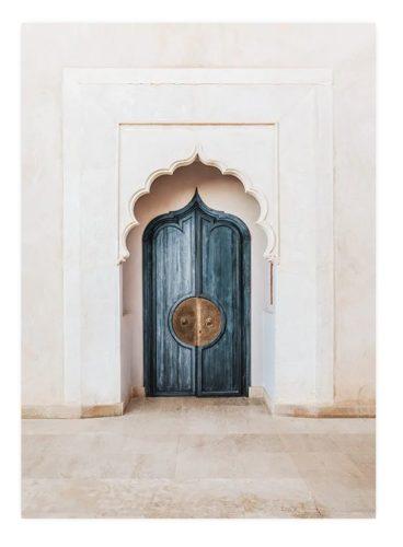 Marrakech Blue Door (50x70)